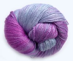 Berry Juice • Soft and silky smooth • Lots of luster and shine • Beautiful lace stitch definition • Amazing drape  • 100% Soybean • 2Ply Fingering/Sock Weight Yarn • 378 yds/345 m • 4 oz/115 gr • Recommended Needle: US 1-3 (2.5-3.25 mm) • Recommended Hook: US B1-E4 (2.25-3.5 mm) • Care: Hand wash in cool water, lay flat to dry.