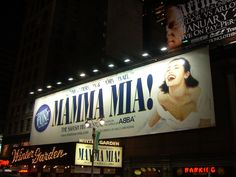 Saw Mamma Mia in Vegas and Sacramento. My daughter and I love the songs and the movie was great too.