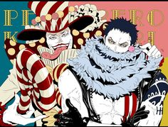 Big Mom Crew Charlotte Katakuri Perospero One Piece