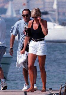 Lady D con il fidanzato Dody Al Fayed nell'estate del 1997, anno in cui morirono tragicamente.
