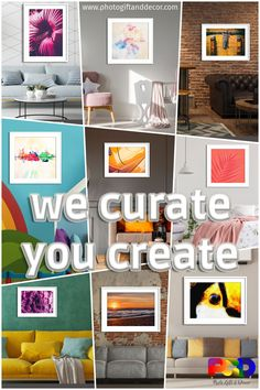 Design your everyday with art prints you'll love. Cover your walls, shelves, accent or coffee tables with museum quality giclée prints artwork. Living Room Decor, Bedroom Decor, Bedroom Wall, Nursery Decor, Small Apartment Decorating, Rental Decorating, Cozy Apartment, Decorating Tips, Cool Wall Decor