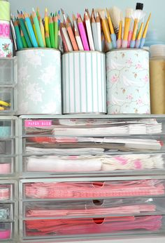 101 ways to get pretty organized