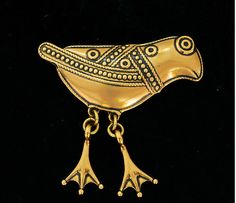 Vintage modernist brooch, Bird of Hattula, Kalevala Koru, Finland Bird Jewelry, Metal Jewelry, Pendant Jewelry, Jewelry Art, Jewelery, Vintage Jewelry, Jewelry Design, Celtic Designs, Steel Metal