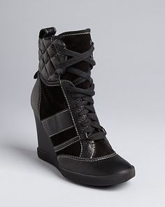 Chloé High Top Wedge Sneakers - Kasia - Shoes - Bloomingdale's
