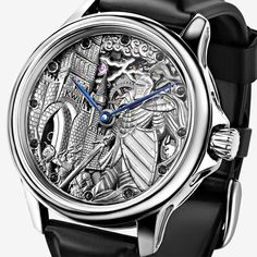 Stefan Vinogradov Will Hand-Engrave The Watch Of Your Dreams Feature Articles