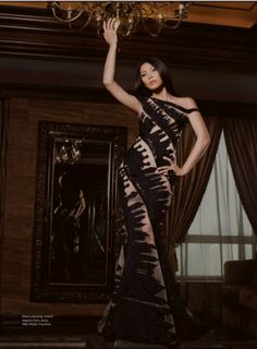 Anggun Cipta Sasmi Montana. She's one of my favorite women alive. She's beautiful, with attitude and everything. *picture take from AMICA sept 12