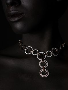 Check out this stunning necklace photographed by Angelo Kritikos. For behind the scene pics, follow Angelo on Twitter @angelokritikos