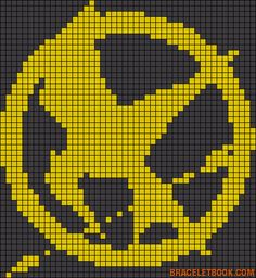 The Hunger Games perler bead pattern