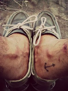 Small tattoo positioning - don't like anchors