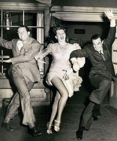 Phil Silvers, Rita Hayworth & Gene Kelly
