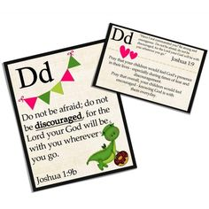 a to z prayer cards