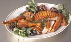 Follow Shira Bocar's technique for carving turkey and arranging it on a platter for a presentation that's both beautiful and easy to serve.