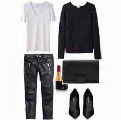 Chanel Rouge Coco, COS clutch, Helmut Lang Knit Pullover, Isabel Marant for HM bikerjeans, Isabel Marant V-Neck Tee, Modeblog Köln, Modeblog...