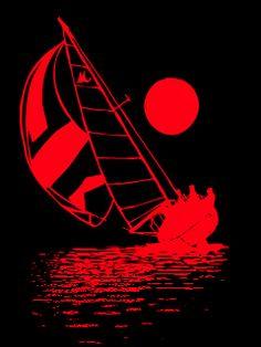 Beacon Of Light, Art Clipart, Paint Shop, Textile Patterns, Pattern Wallpaper, Moonlight, Rum, Color Blocking, Sailing