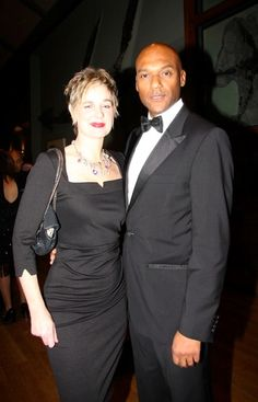 Elegantly dressed, Mr and Mrs Salmon @colinsalmon24 attended the Chain of Hope Annual Gala Ball last Thursday night. For more information, visit: www.backesandstrauss.com