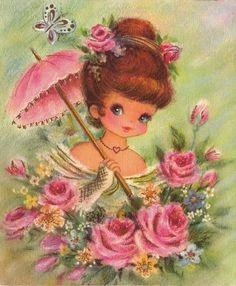 illustrations vintages mignonnes de c - Page 8