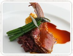 Lamb- a perfect pairing with our Pinot Noir