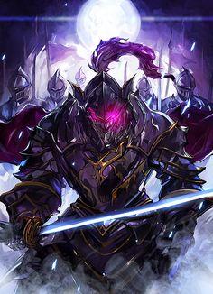 Goblin Slayer – Knight – Home Roofing Tips Ninja Kunst, Arte Ninja, Ninja Art, Fantasy Kunst, Dark Fantasy Art, Fantasy Artwork, Demon Art, Fantasy Warrior, Armor Concept