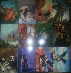 Everway Vision Card Lot