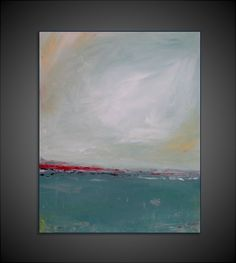 Original Medium Abstract Modern Canvas Painting  16x20 by GPerillo, $120.00