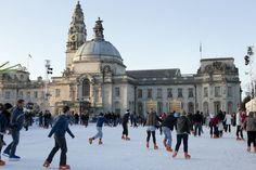 Cardiff's WalesOnline Winter Wonderland The highlight of Christmas in the city has to be Cardiff's WalesOnline Winter Wonderland. This festive treat is set on City Hall Lawn with a backdrop of Cardiff's iconic Civic Centre.
