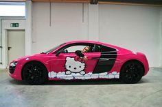 Audi R8 - Hello Kittie