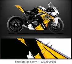 abstract livery for vehicle vinyl Racing background Motorcycle Decals, Motorcycle Design, Yamaha Motorcycles, Yamaha R1, Covering Moto, Cb 300, Bike Stickers, Custom Wraps, Car Drawings