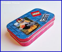 A Creative Princess: Lego Travel Kit {Altoid Tin Version}  OMG genius! Also for organizing the small kits.