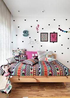 Room Decor For Teen Girls, Cool Teen Bedrooms, Teen Bedroom Designs, Girls Bedroom, Master Bedrooms, Diy Home Decor Bedroom, Bedroom Themes, Bedroom Wall, Bedroom Ideas