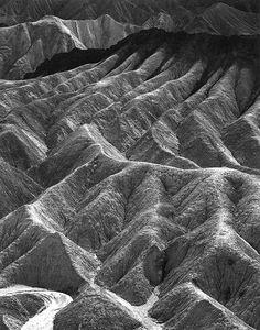 """Death Valley National Monument"" California, 1942, Ansel Adams"