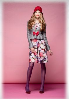 Pink and Green Thursday: Alannah Hill, Fashion Fantasy Quirky Fashion, Whimsical Fashion, Fashion Art, Fashion Outfits, Mysterious Girl, Other Outfits, Feminine Style, Girly Girl, Pink And Green
