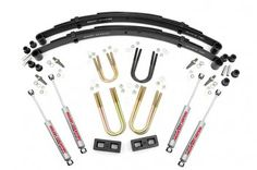 Rough Country Suspension Systems // 3in Jeep Suspension Lift Kit - $335.95