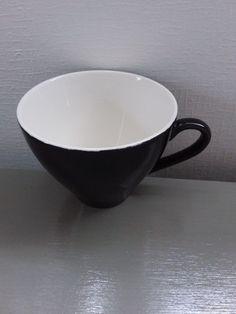 Crown Lynn Black Tulip Cup | Trade Me Black Tulips, Crown, Tableware, Beautiful, Corona, Dinnerware, Tablewares, Dishes, Crowns