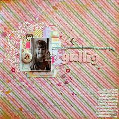 Gullig by Riikka Kovasin for Scrap365 / Prima Marketing