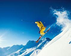 Ski in the Alps