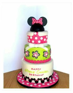Minnie cake.... Jenny Haute Cakes