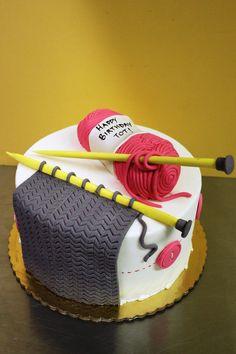 https://flic.kr/p/jkT7DL | Knitting Cake