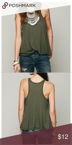 Free People Long Beach Tank In great condition, worn three times! :) Free People Tops Tank Tops