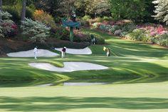 Augusta National Golf Club, Georgia.  Hole# 12.