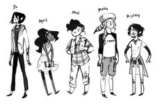 As Noelle Stevenson Leaves Lumberjanes, She Shares Her First Sketches