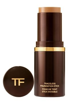 Free shipping and returns on Tom Ford Traceless Foundation Stick at Nordstrom.com. The traceless foundation stick by Tom Ford features a unique, hydrating cream formula designed to give your skin a smooth, flawless finish. It features an undetectable formula so you look beautifully natural whether your using sheer, medium or full coverage. When used as a concealer, it swiftly diminishes the appearance of imperfections.