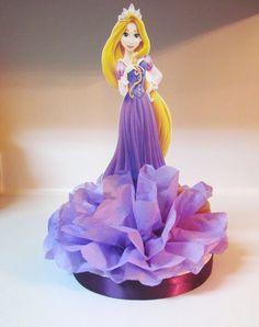 Rapunzel Tangled Princess Centerpiece  by KhloesKustomKreation, $12.00