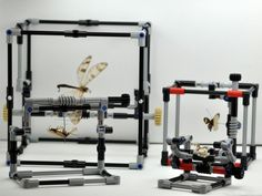 Lego contraption allows scientists to safely handle insects.