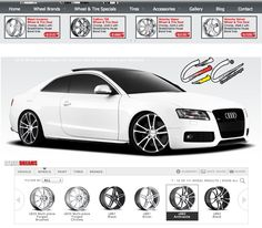 Car Configurator on Pinterest