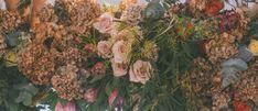 Dried floral arrangement Love Stomp Floral New Zealand weddings