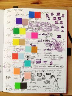 idea journals...