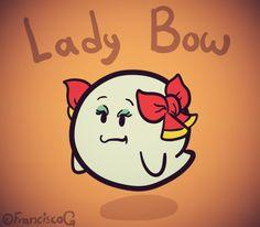 Lady Bow #PaperMario Fan Art