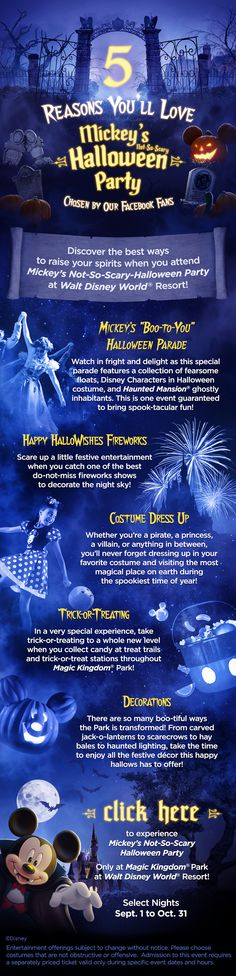 5 Reasons You'll Love Mickey's #NotSoScary Halloween Party! #waltdisneyworld #vacation #tips