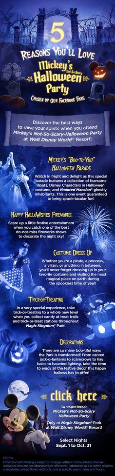 5 Reasons You'll Love Mickey's #NotSoScary Halloween Party! #waltdisneyworld #vacation #tips