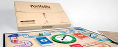 Kevin Trow, Portfolio the Board Game - Packaging